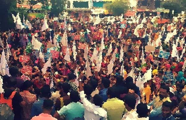 Protests in Bihar after custodial death of JDU Dalit leaderGanesh Ravidas