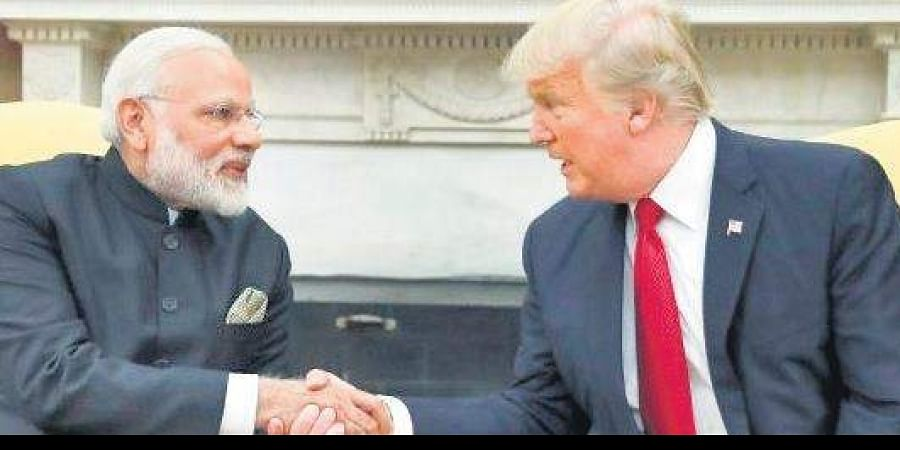 PM Narendra Modi and US President Donald Trump