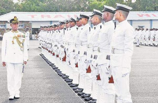 Passing out parade held at INS Chilika- The New Indian Express