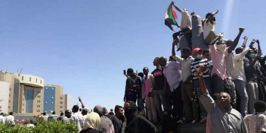 Demonstrators in Sudan demand justice for those killed in crackdown