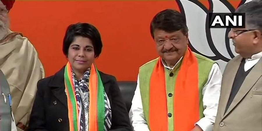 Former IPS officer and BJP leader Bharati Ghosh