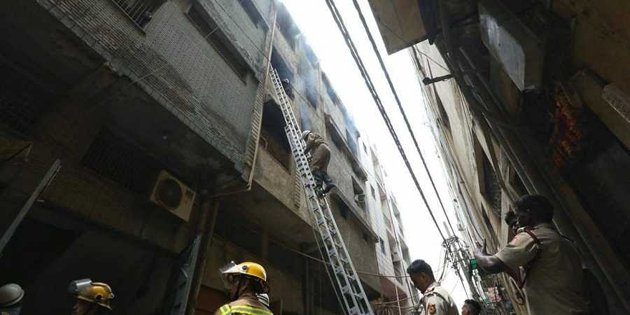 Three dead in fire at factory in east Delhi's Jhilmil