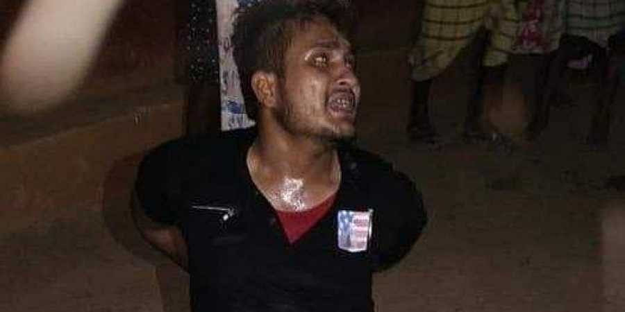 Some locals thrashed Tabrej and later gave him over to the police.