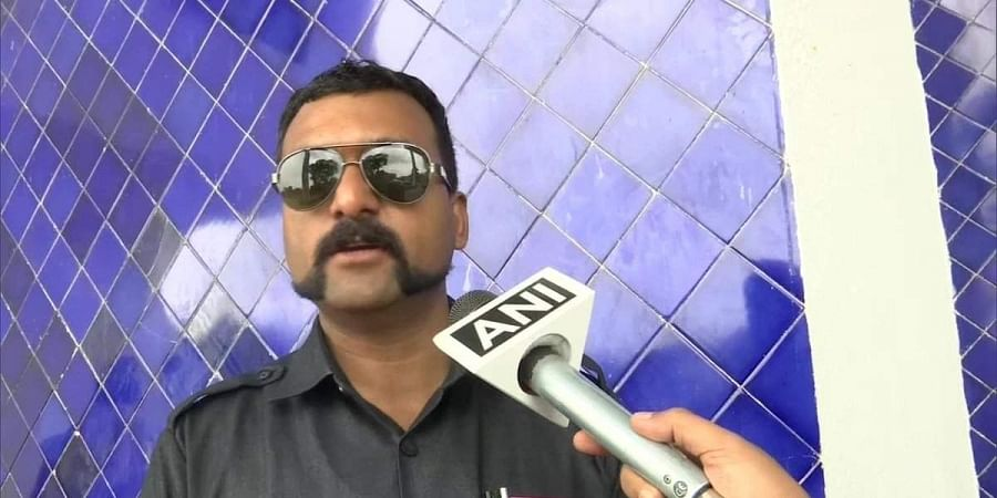 Kailash Pawar, a policeman in Bhopal has styled his mustache after Wing Commander Abhinandan.