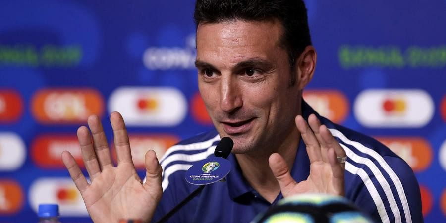 Messi is fine, comfortable with Barcelona: Argentina coach Lionel ...