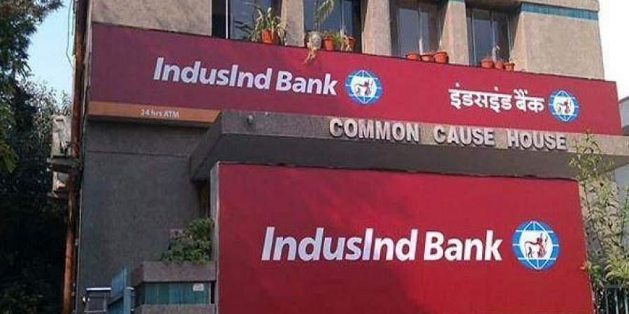 Image of IndusInd bank used for representational purpose only