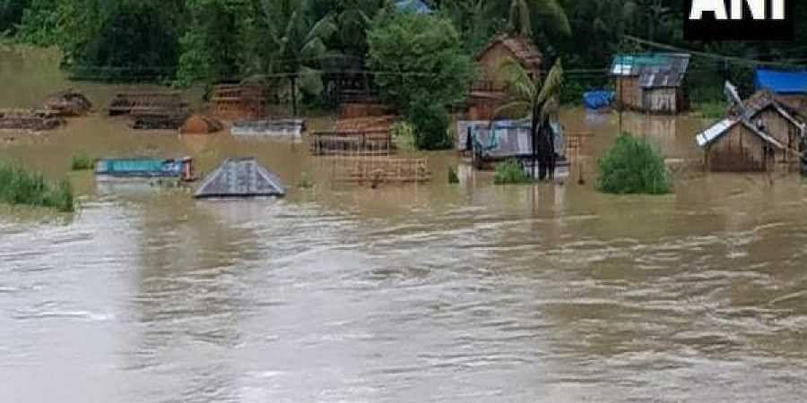 Mizoram floods
