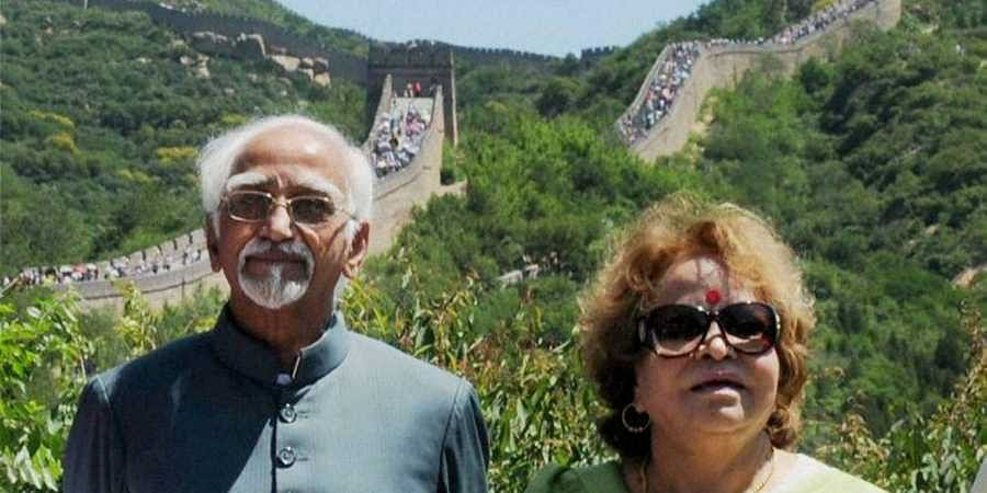 Former Vice President Hamid Ansari's wife to build temple in madrasa in UP