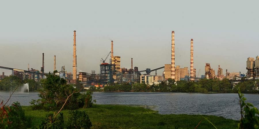 Tata Steel plant in Jamshedpur