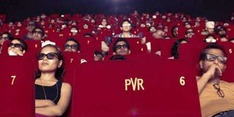 Audience at a PVR theatre.