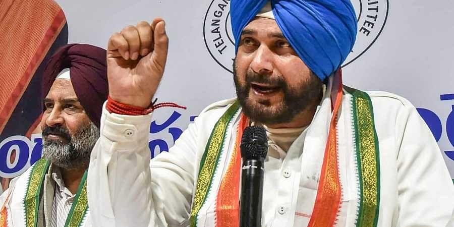 Punjab minister Navjot Singh Sidhu