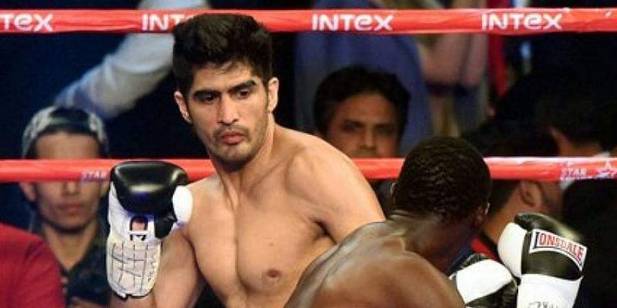 Indian boxing star Vijender Singh