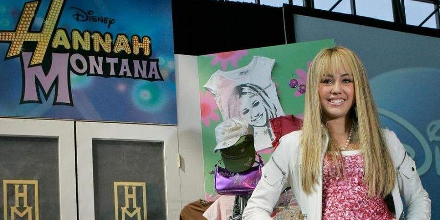 Miley Cyrus as Hannah Montana (Photo | File, AP)