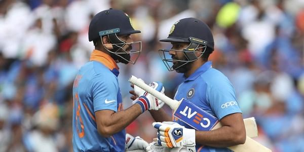 Virat Kohli and Rohit Sharma (File Photo | AP)