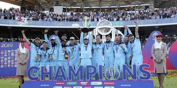 After a thrilling game of cricket, England made history by winning their maiden World Cup | AP