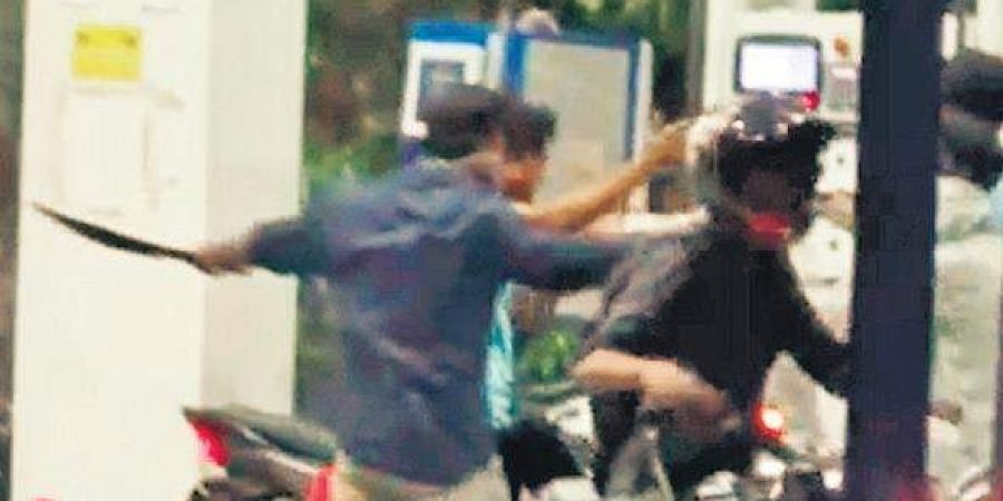 Image result for petrol bunk attack in chennai