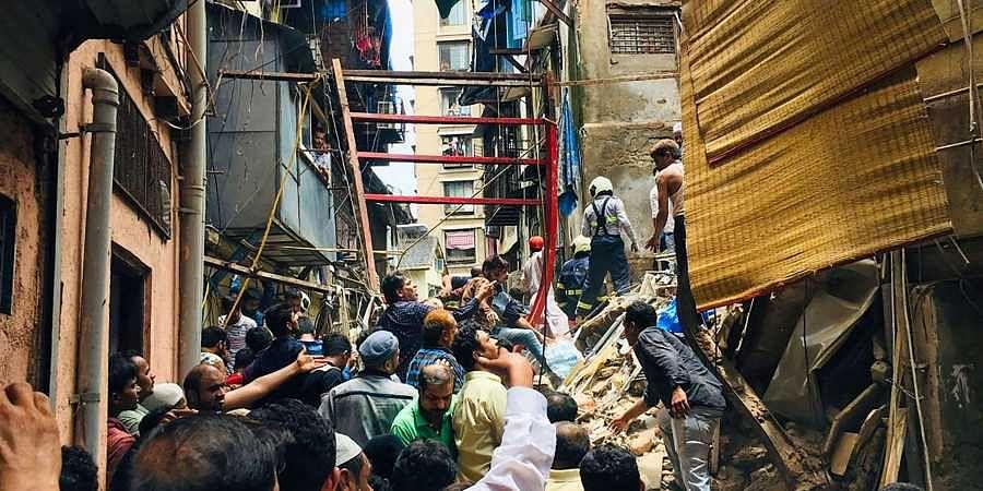 Mumbai building collapse, Dongri building collapse