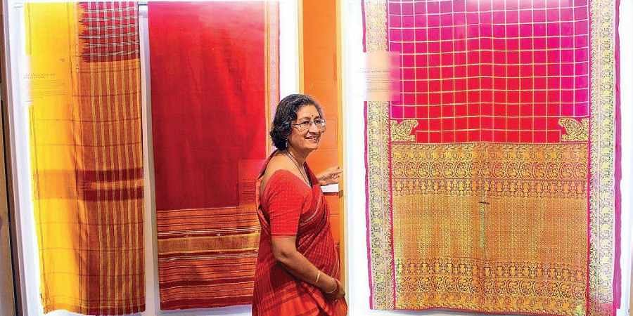 Pavithra Muddaya is also hoping to publish a book on the secrets of Bengaluru textiles