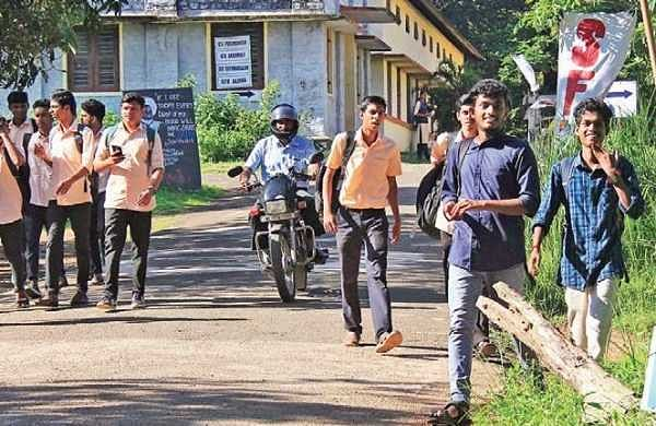 Students' unrest at Polytechnic College
