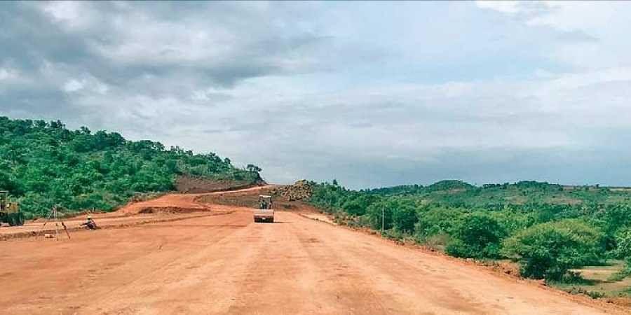Bengaluru Mysore expressway at standstill