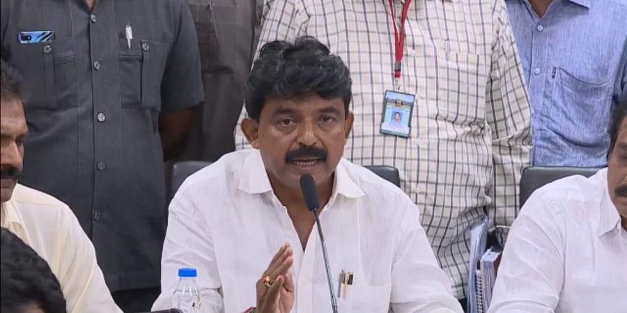 Transport Minister Perni Venkataramaiah