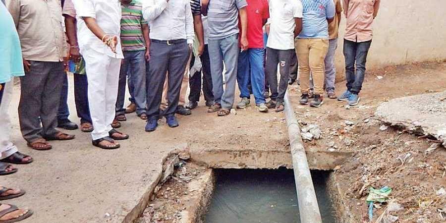 drain, sewage