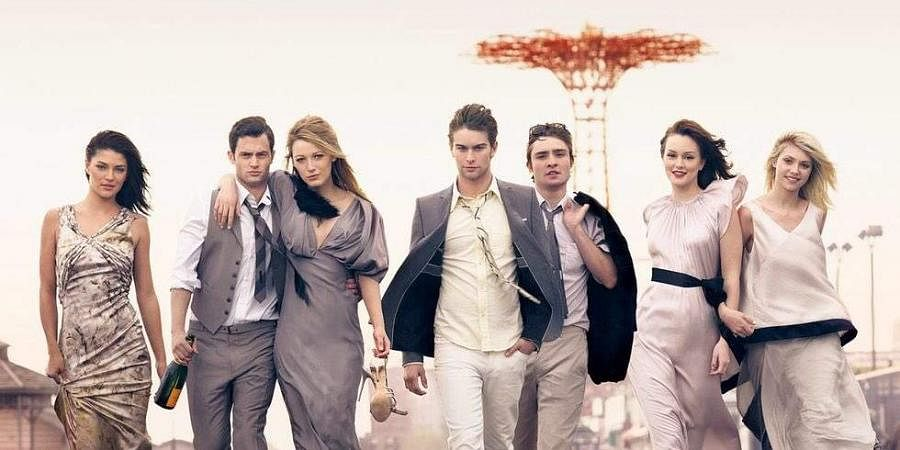 The cast of Gossip Girl. (Photo   File)