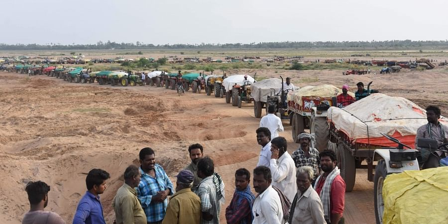 Boost to Andhra Pradesh construction sector as first sand