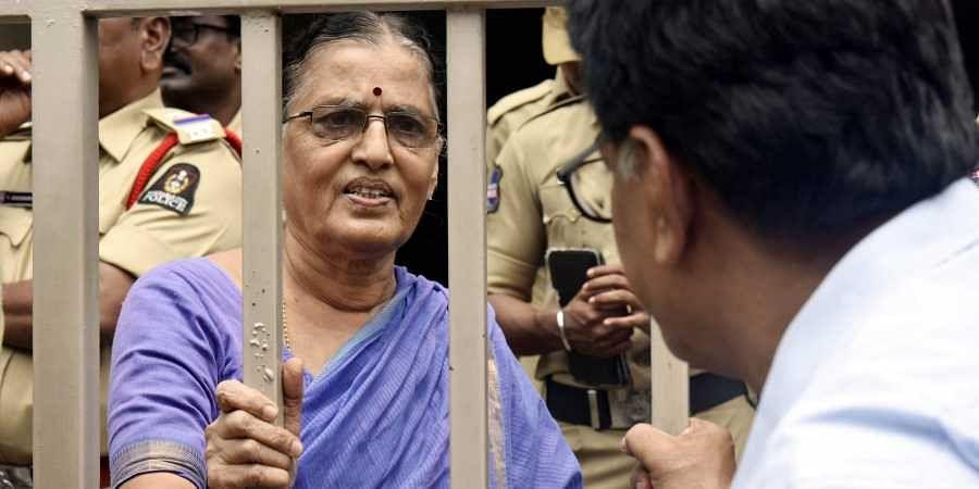 Provide Varavara Rao facility for reading, writing in jail, activist's wife  urges Maharashtra govern- The New Indian Express