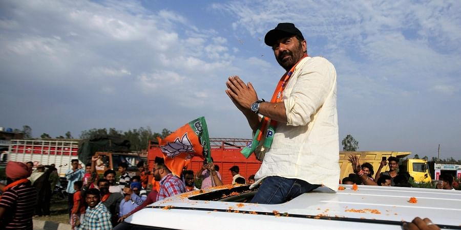 Bollywood actor turned BJP MP Sunny Deol (File Photo | AP)