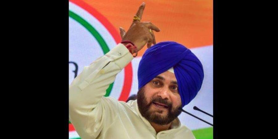 Punjab Congress leader Navjot Singh Sidhu