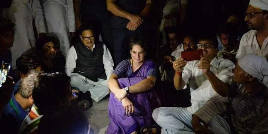 Priyanka_Gandhi_detained_UP