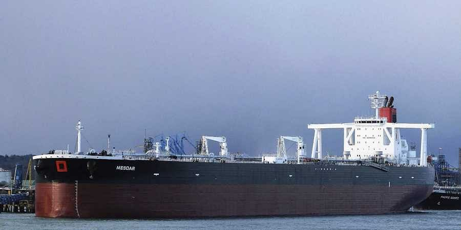 UK flagged oil tanker which was seized by Iran.