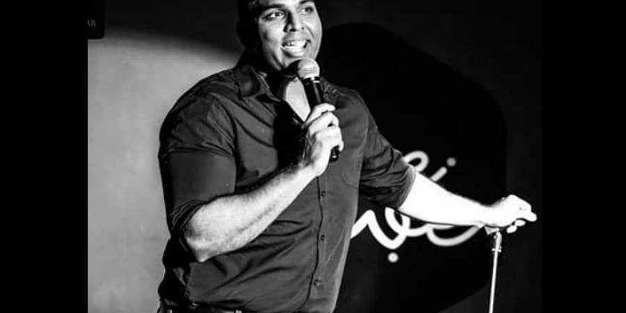 Indian origin comedian Manjunath Naidu.