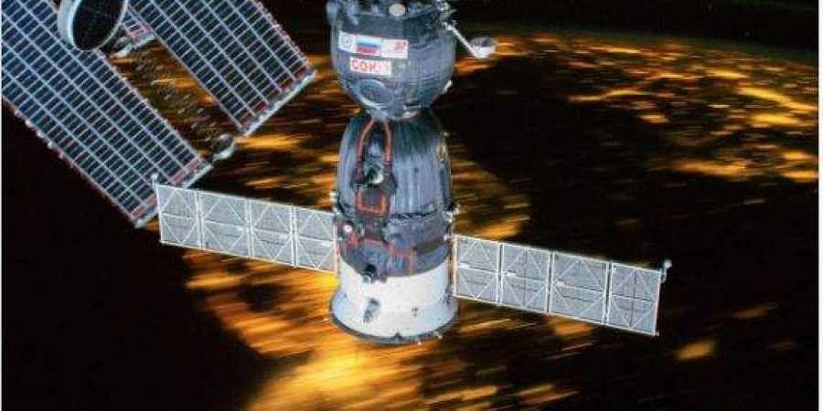 Russia's Soyuz MS-13 spacecraft
