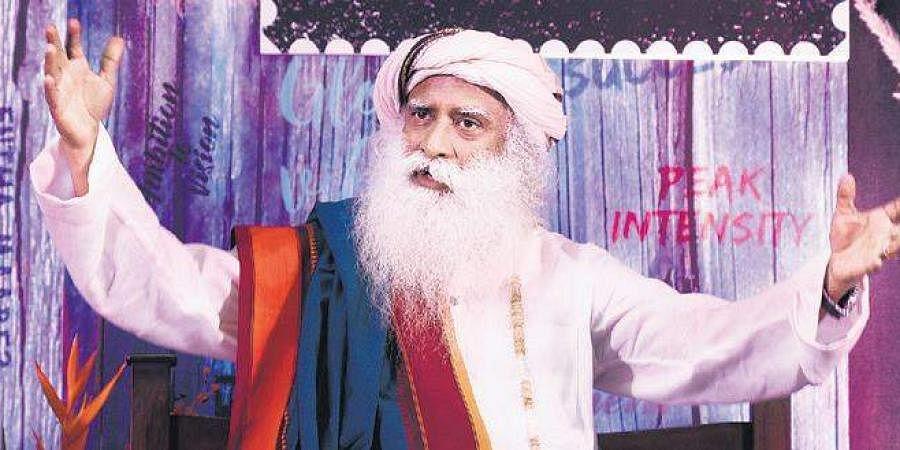 Isha Foundation founder Sadhguru Jaggi Vasudev (File Photo | Vinod Kumar T, EPS