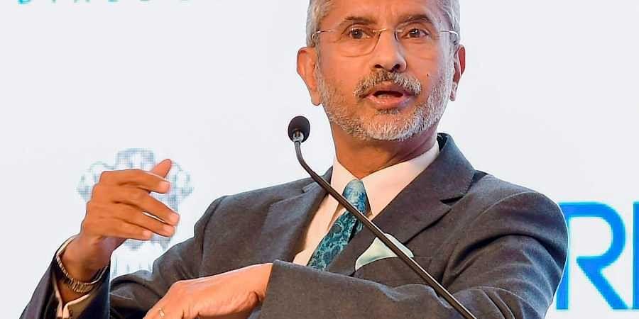 External Affairs Minister SJaishankar