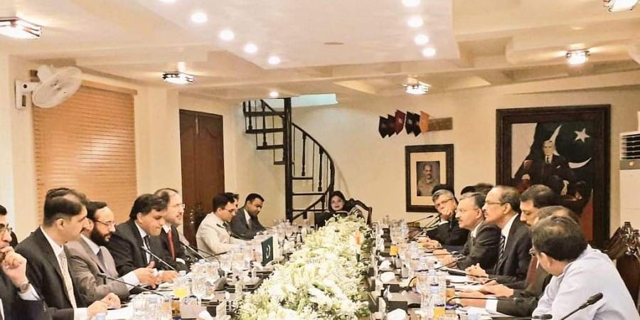 Indo-Pak delegations on Kartarpur Corridor
