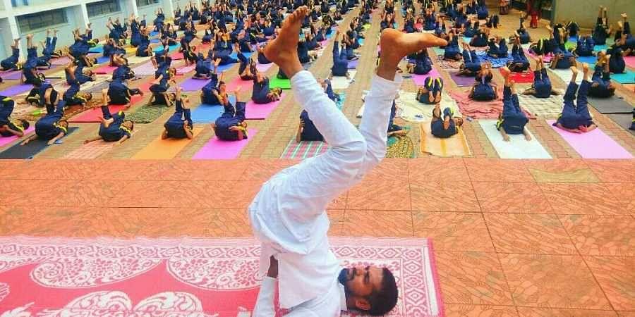 International_Yoga_Day_Photos