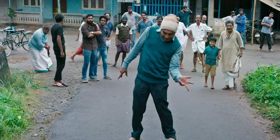 The highly energetic minute-long 'Ambili' teaser, accompanied by a dance track called Njan Jackson Allada.