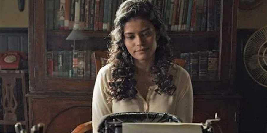 A still from Netflix series 'Typewriter'.