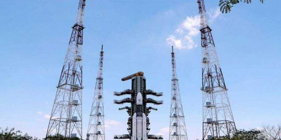 India's most powerful launcher till date, GSLVMkIII lifted off for the Moon with Chandrayaan-2 spacecraft from Sriharikota at 2:43 pm on 22 July 2019. (Photo | PIB Twitter)