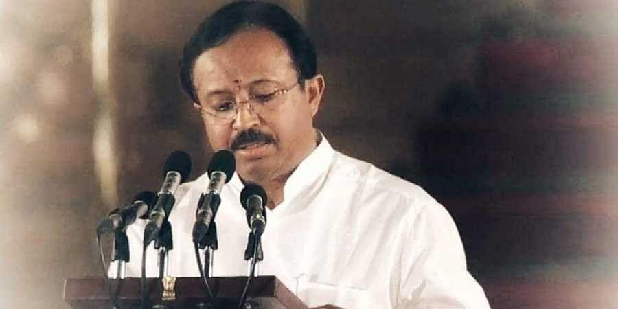 Minister of State for External Affairs, V Muraleedharan.