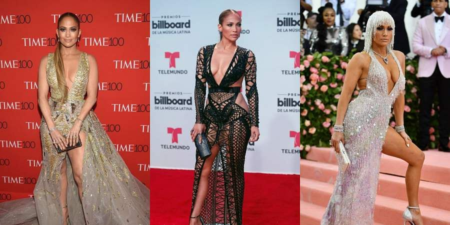 AsJennifer Lopez turns 50, let us take a look at the 10 instances when J-Lo stole the spotlight with herRed Carpet looks.