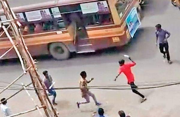 Machete-wielding students terrify Chennai again
