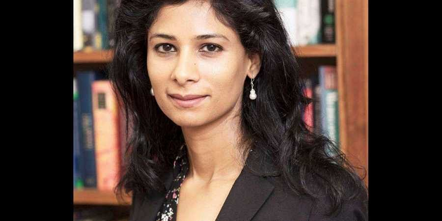 Chief economist of the IMF, Gita Gopinath