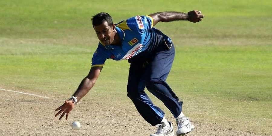 Sri Lanka bowler Nuwan Kulasekara. (Photo | AFP)