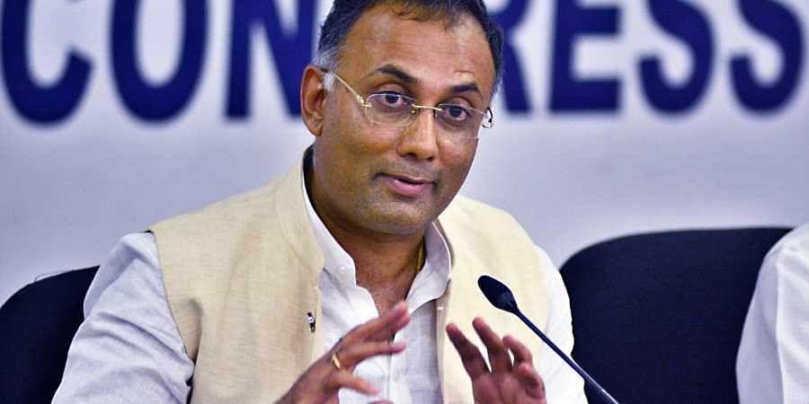 Karnataka Congress chief Dinesh Gundu Rao