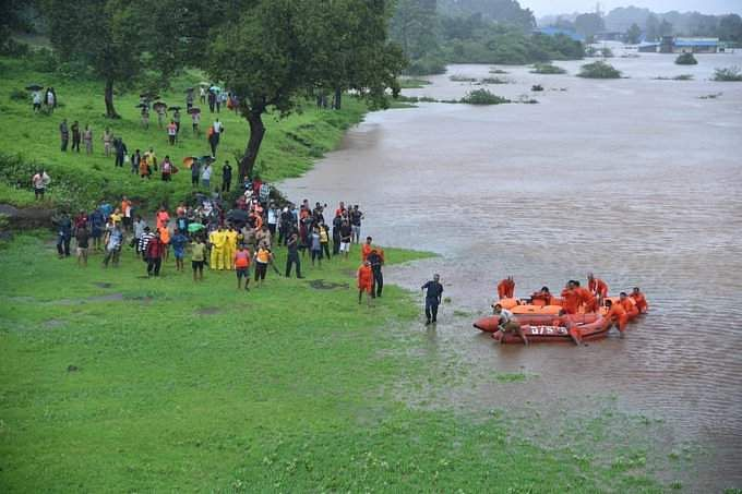 700 passengers evacuated from train stuck in floodwaters in India