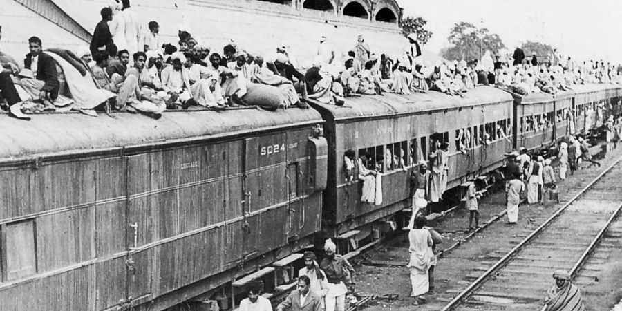 A photo from the 1947 Partition